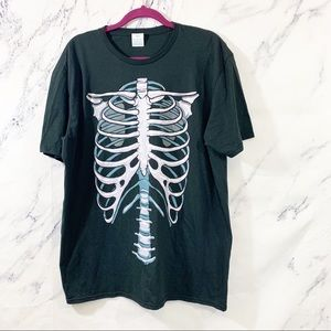Other - Unisex Skeleton Graphic Tee XL